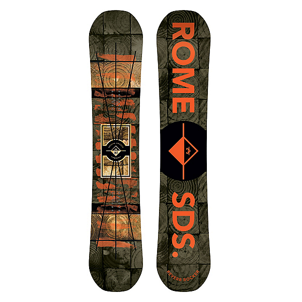 Rome Reverb Rocker Wide Snowboard 2017, , 600
