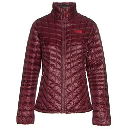 The North Face ThermoBall Full Zip Womens Jacket (Previous Season), Deep Garnet Red, 256