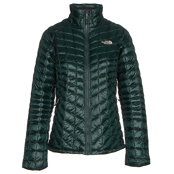 The North Face ThermoBall Full Zip Womens Jacket (Previous Season), Darkest Spruce, 600
