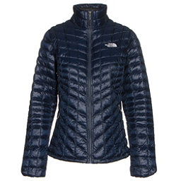 The North Face ThermoBall Full Zip Womens Jacket (Previous Season), Cosmic Blue-Arctic Ice Blue, 256