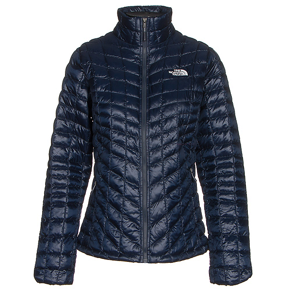 The North Face ThermoBall Full Zip Womens Jacket (Previous Season), Cosmic Blue-Arctic Ice Blue, 600
