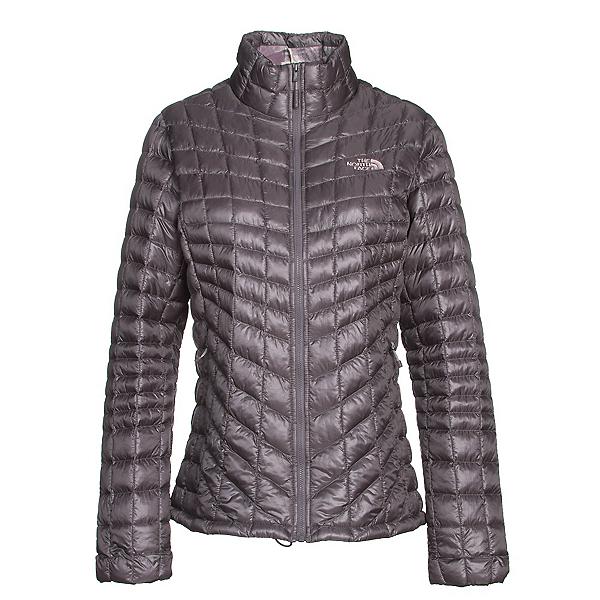 The North Face ThermoBall Full Zip Womens Jacket (Previous Season), Rabbit Grey-Rabbit Grey Swashe, 600