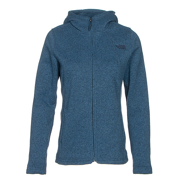The North Face Crescent Full Zip Womens Jacket (Previous Season), Shady Blue Heather, 600