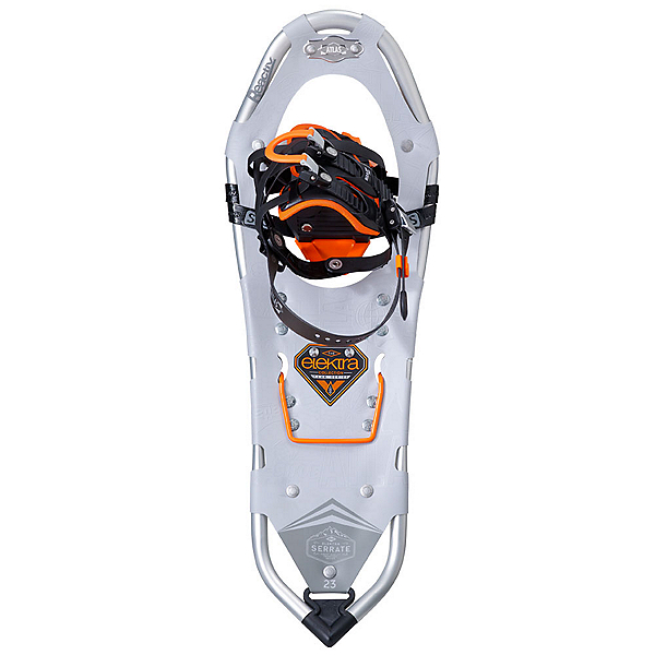 Atlas Elektra Serrate Womens Snowshoes, Silver-Orange, 600