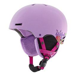 Anon Rime Kids Helmet, Wildlife Purple, 256