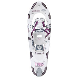 Tubbs Mountaineer Womens Backcountry Snowshoes, White-Eggplant, 256