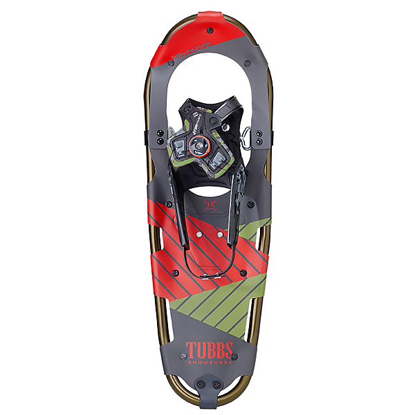 Tubbs Wayfinder Snowshoes, Army-Red, 600