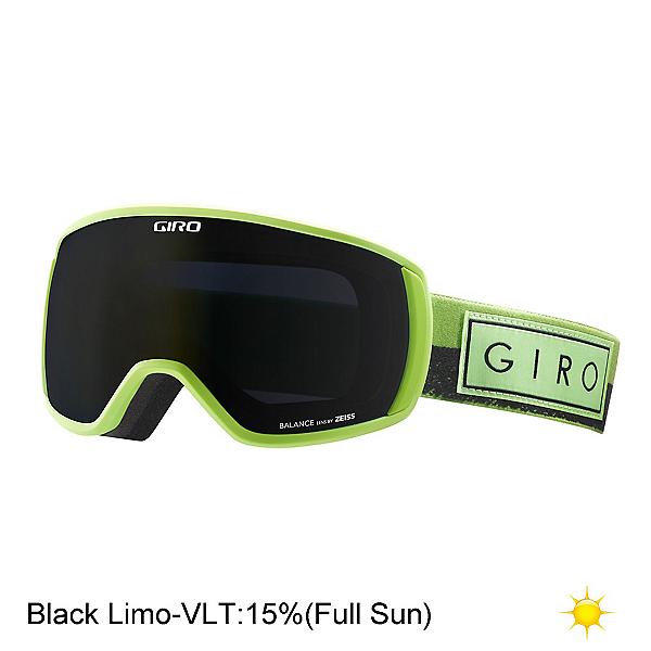 Giro Balance Goggles, Flash Lime Mil Spec Olive-Bla, 600