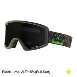 Giro Blok Goggles, Mil Spec Olive-Camo Captain-Lo, 256