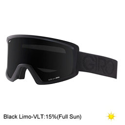 Giro Blok Goggles, Black Dual-Black Limo, 256