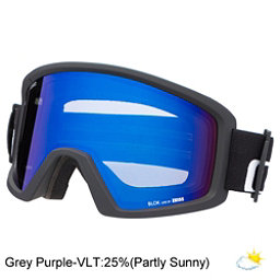 Giro Blok Goggles, Black Wordmark-Grey Purple, 256