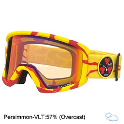 Giro Blok Goggles, Flash Red-Yellow Sun Persimmon, 256