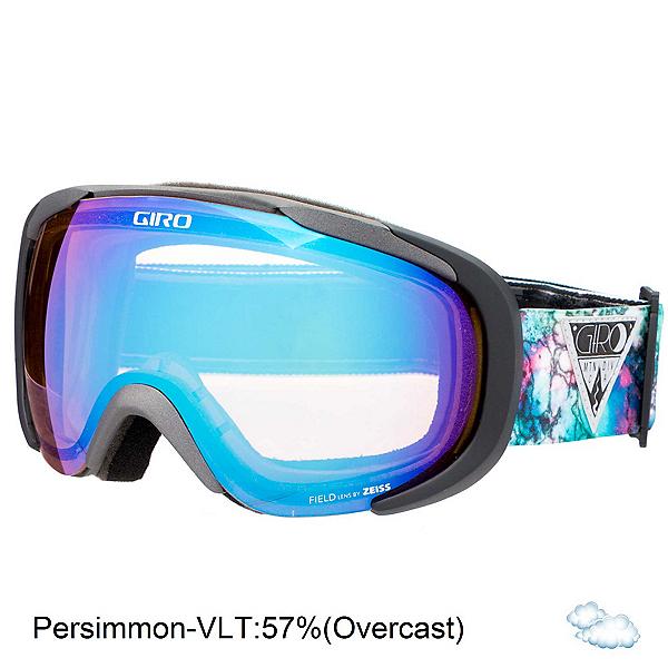 Giro Field Womens Goggles, Black Galaxy-Persimmon Boost, 600