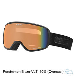 Giro Facet Womens Goggles, Black Cross Stitch-Persimmon B, 256
