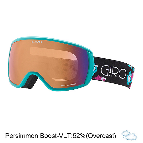 Giro Facet Womens Goggles, Turquoise-Berry Flowers-Persim, 600