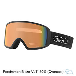 Giro Gaze Womens Goggles, Black Pocket Square-Persimmon, 256