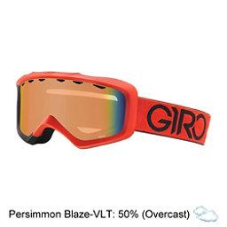 Giro Grade Kids Goggles, Red-Black Dual-Persimmon Blaze, 256
