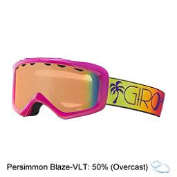 Giro Grade Kids Goggles, Berry-Magenta Palms-Persimmon, 256