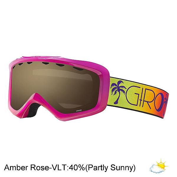Giro Grade Kids Goggles, Berry Magenta Palms-Ar40, 600