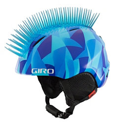 Giro Launch Plus Kids Helmet 2017, Blue Icehawk, 256