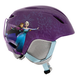 Giro Launch Plus Kids Helmet 2017, Purple Disney Frozen, 256