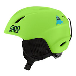 Giro Launch Kids Helmet, Matte Lime Shark Party, 256