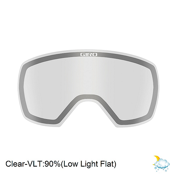 Giro Contact Goggle Replacement Lens 2020, Clear, 600