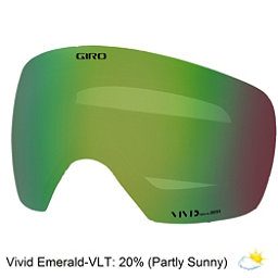 Giro Contact Goggle Replacement Lens 2018, Vivid Emerald, 256