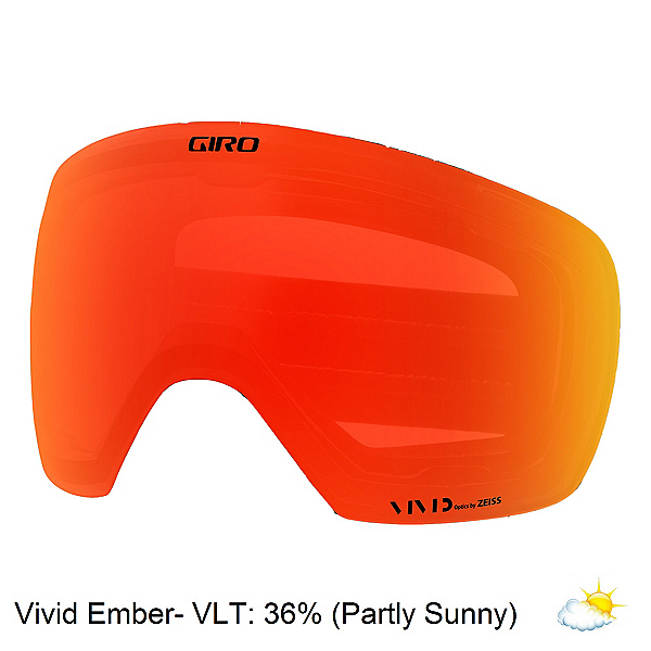Giro Contact Goggle Replacement Lens 2018, Vivid Ember, 600