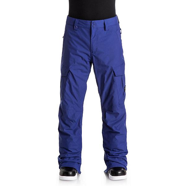 Quiksilver Porter Shell Mens Snowboard Pants, Sodalite Blue, 600