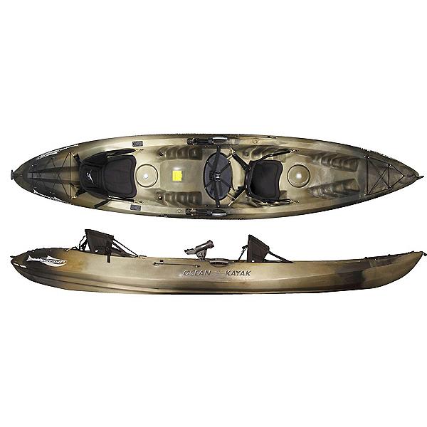 Ocean Kayak Malibu 2XL Angler Kayak 2019, Brown Camo, 600