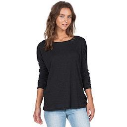 Volcom Lived In Go Crew Womens Shirt, Black, 256