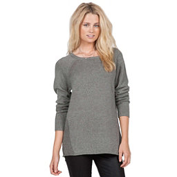Volcom Air It Out Crew Womens Sweater, Heather Grey, 256