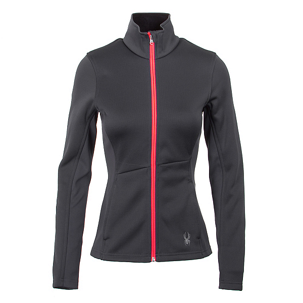 Spyder Core Jewel Mid WT Womens Sweater, Depth-Bryte Pink, 600