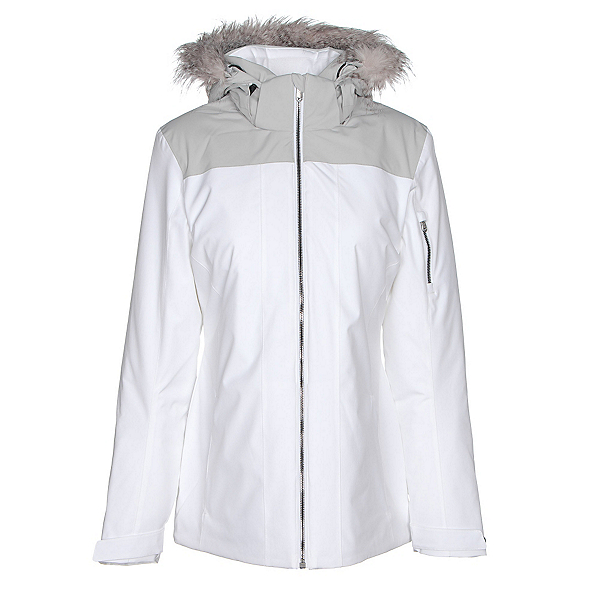 Spyder Entice Womens Insulated Ski Jacket, White, 600