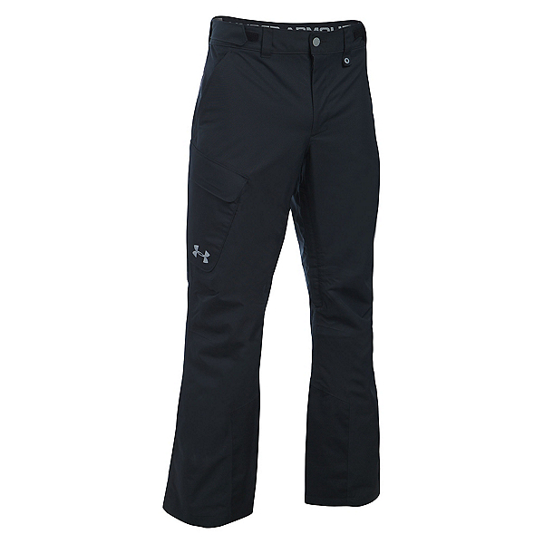 Under Armour ColdGear Infrared Chutes Shell Mens Ski Pants, , 600