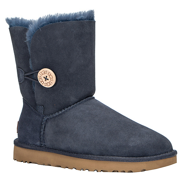 UGG Bailey Button II Womens Boots, Navy, 600