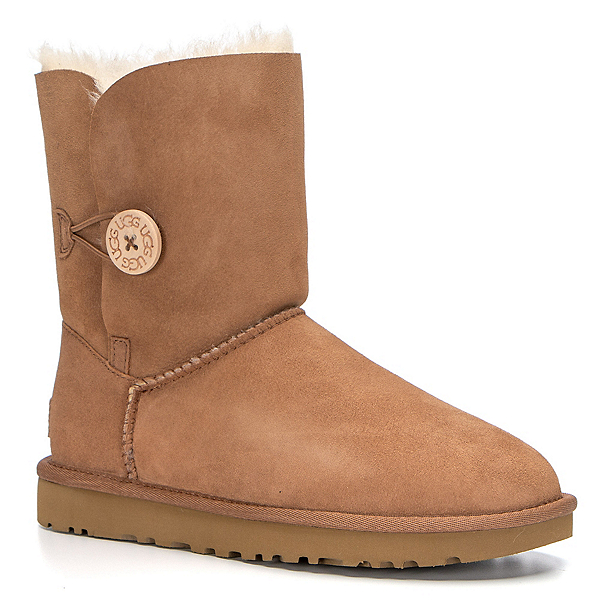 UGG Bailey Button II Womens Boots, Chestnut, 600