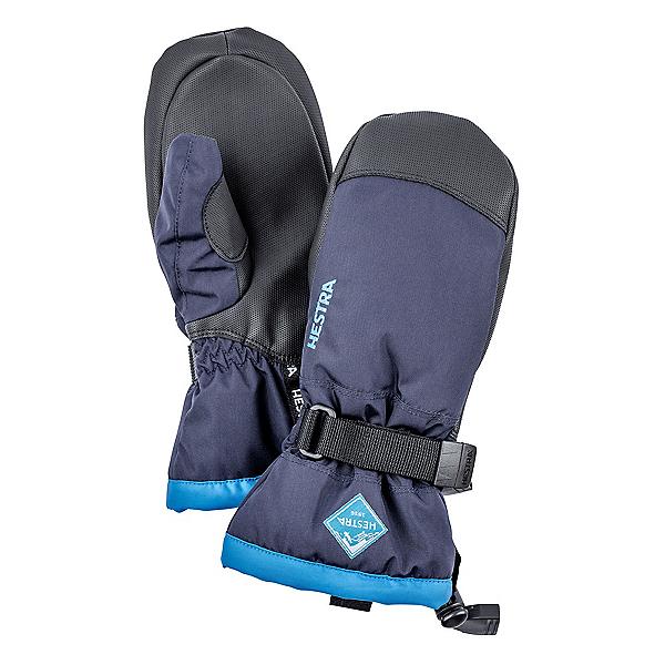 Hestra CZone Gauntlet Kids Mittens, Dark Blue-Turquoise, 600
