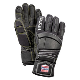Hestra Impact Ski Racing Gloves, Black-Red, 256