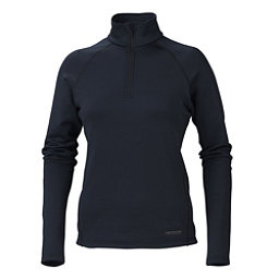 Marker Loveland 1/2 Zip Womens Long Underwear Top, Black, 256
