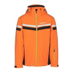 Karbon Chromium Mens Insulated Ski Jacket, Pylon-Black-Arctic White-Lime, 256