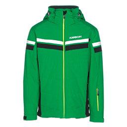 Karbon Chromium Mens Insulated Ski Jacket, Fairway-Black-Arctic White-Lim, 256
