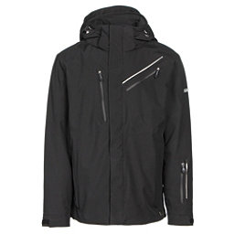 Karbon Helium Mens Insulated Ski Jacket, Black-Black-Black, 256
