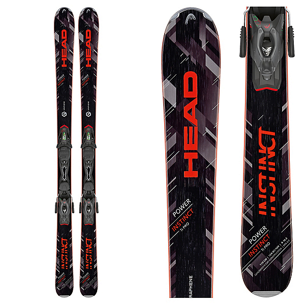 Head Power Instinct Ti Pro Skis with PRX 12 Bindings, , 600