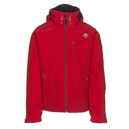 Descente Regal Mens Insulated Ski Jacket, Electric Red-Black, 256
