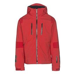 Descente Anton Mens Insulated Ski Jacket, Electric Red-Gunmetal-Black, 256