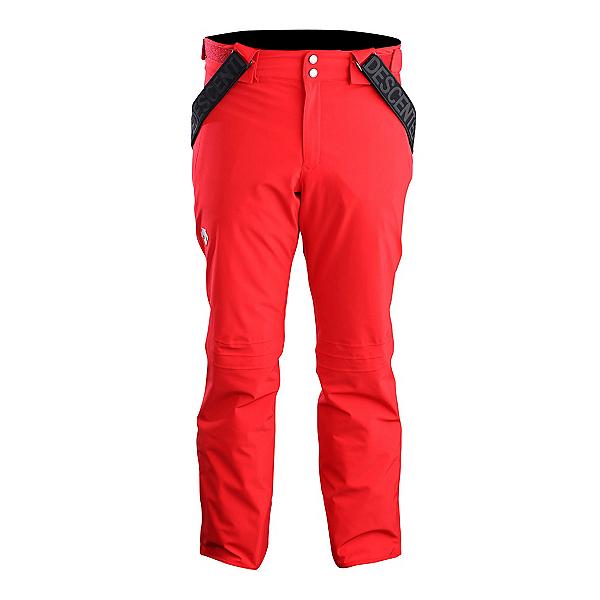 Descente Swiss Mens Ski Pants, Electric Red, 600