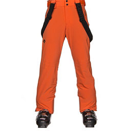 Descente Swiss Mens Ski Pants, Salamander Orange, 256