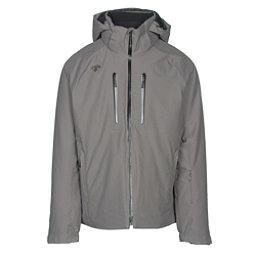 Descente Rogue Mens Insulated Ski Jacket, Gray, 256